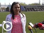 Відео-сюжет про змагання з легкої атлетики «Кубок Рівного» на ТРК Ритм