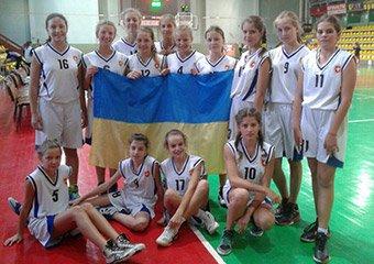 Дівчата 2004 р.н. зіграли в першому турі Баскетбольної Слов'янської Лиги