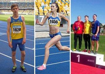 Чудові досягнення наших вихованців на Чемпіонаті України з легкої атлетики