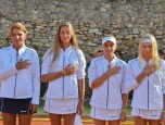 Наші тенісистки - переможці Кубку Європи серед дівчат до 14 років