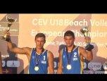 Українці - переможці чемпіонату Європи з волейболу пляжного серед чоловіків до 18 років