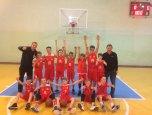 Відбувся І тур Всеукраїнської юнацької баскетбольної ліги серед юнаків 2008 року народження