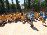 Фестиваль міні-баскетболу в Залізному Порту зібрав понад 100 учасників