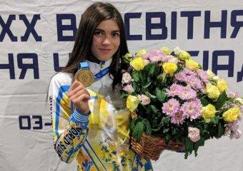 Вітаємо Катерину Климюк з першим місцем на Всесвітній Універсіаді з легкої атлетики