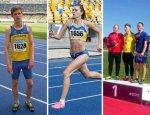 Вітаємо наших легкоатлетів Козика Андрія, Климюк Катерину та Мисливчука Володимира!