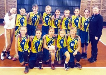 Дівчата 2003 та 2008 років народження зіграли в юнацькій баскетбольній лізі