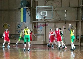 Відбувся четвертий тур ВЮБЛ серед дівчат 2003 р.н.
