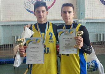 Фінальний тур зимового чемпіонату України з волейболу пляжного серед юнаків до 17 років
