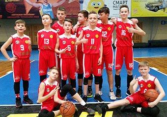 Юнаки 2008 року народження зіграли в юнацькій баскетбольній лізі