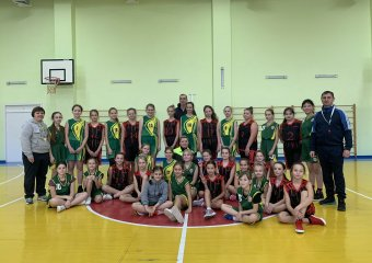 Наші баскетболістки взяли участь у святкових змаганнях до дня Святого Миколая