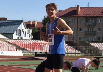 Спортсмени ОСДЮСШОР на чемпіонаті України з легкої атлетики здобули дві срібні нагороди