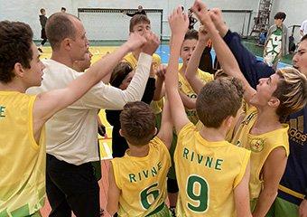 Перший тур юнацької баскетбольної ліги (ВЮБЛ) серед юнаків 2008 року народження