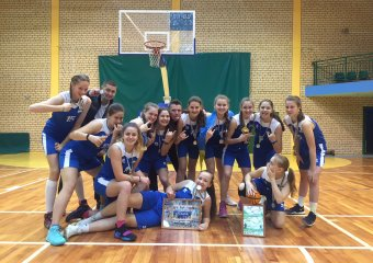 Вдалий виступ наших дівчат у Європейській Дитячій Баскетбольній Лізі