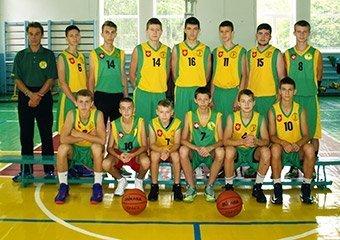 Юнаки 2001 року народження домінують в юнацькій баскетбольній лізі