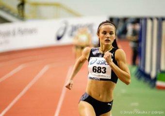 Проходить чемпіонат України з легкої атлетики в приміщенні