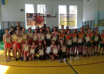 Фінальні тури обласної дитячо-юнацької баскетбольної ліги серед юнаків та дівчат