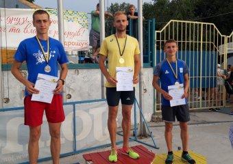 Романюк Дмитро став майстром спорту України з легкої атлетики!