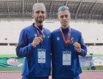 Дмитро Романюк - срібний призер Міжнародного турніру з легкої атлетики!