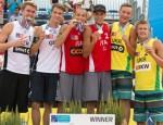Міжнародний турнір з волейболу пляжного серед кращих чоловічих пар Європи