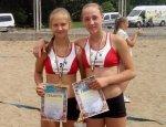 Вихованки ОСДЮСШОР стали срібними призерами чемпіонату України з волейболу пляжного