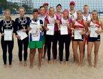 Відбулись фінальні змагання з волейболу пляжного