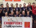 Дівчата нашої школи перемогли на міжнародному турнірі з басктболу в Празі