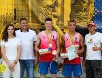 Ковальов Ілля та Павлюк Владислав стали чемпіонами чемпіонату України з волейболу пляжного