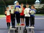 Гойда Юрій виборов перше місце у парному розряді на Всеукраїнському турнірі з тенісу