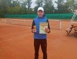 Юрій Гойда здобув перше місце на Всеукраїнських відбіркових змаганнях з тенісу