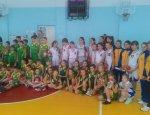 Відбулася першість ОСДЮСШОР з баскетболу серед груп початкової підготовки «Різдвяні зірки»